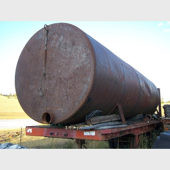 9500 Gallon Used Steel Water Tank For Sale By Savona Equipment