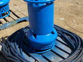 Toyo model ET7.5 submersible pump; 7.5 HP, 460 volt