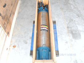 Franklin 50 HP submersible pump motor. 30/460 volt 3 phase. Unit is rebuilt and comes with 75 feet of cable.