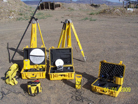 Survey Equipment Kit - Includes 5800 GPS Rover Kit, 5700 Base RTK 1-460 MHZ, Base Radio, Color TSCe Data Collector, 2.0 M Carbon Fibre Range with Bipod.