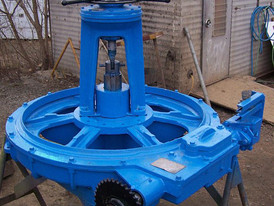 Used Dorr-Oliver Thickener Head. 35 ft. Dia. 3hp drive. SOLD REFURBISHED