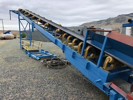 24 in. x 44 ft. Channel Conveyor