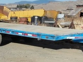 24 ft. Dual Axle Trailer