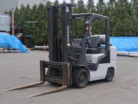 Nissan 8,000 lbs Forklift