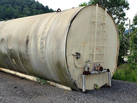 Heatec 30,000 Gallon Steel Tank