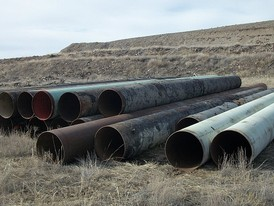 Steel pipe available
