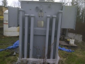 1000 KVA ITE Oil Filled Transformer. 4160-480Y/277 Volt - 3 Phase for sale