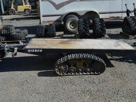 Hiebco 8 ft. x 48 in. Flat Deck Trailers