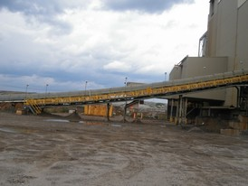 30 in. wide x 250 ft. long Inclined Truss Conveyor for Sale