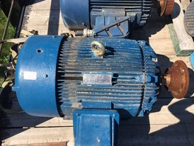 Westinghouse 125 HP Electric Motor