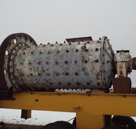Used Allis Chalmers Ball Mill Available. 5 ft. dia. x 10 ft. Long. Steel Wave Style Liners. Belt Drive Pinion Shaft. Straight Cut Bull & Pinion Gear. 150 HP Electric Motor.