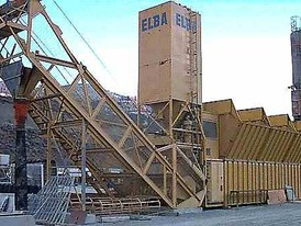 30 - 50 Cubic Meter Elba Batch Plant for Sale