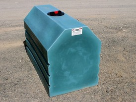 210 Gallon New Polyethylene Loaf Tank for Sale