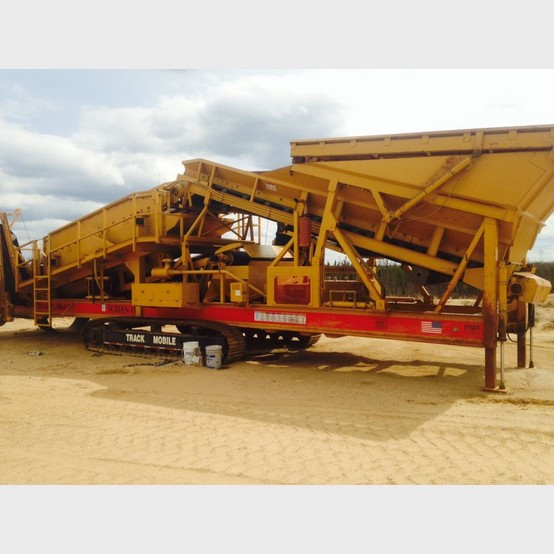 6 X 16 Cec 2 Deck Track Mounted Screener For Sale By