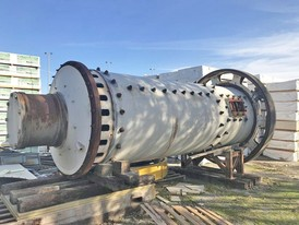 Allis Chalmers 6 ft x 17 ft Ball Mill
