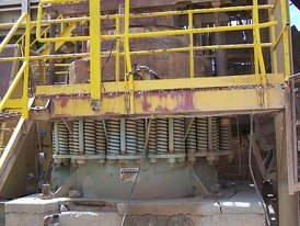 Used Symons 5.5 ft. Shorthead Cone Crusher. Hydrualic Adjust. 200 HP Motor