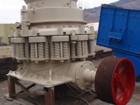 Used Symons Cone Crusher. 4.25 ft. Dia. 200 HP Electric Motor.