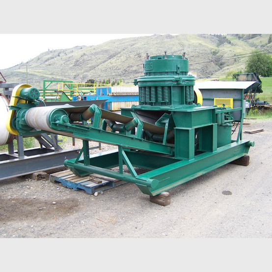Symons 18 Inch Cone Crusher On Skid Frame Complete With