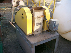 Used Marcy Lab Jaw Crusher. 6 in. x 4 in. Mounted On Stand.