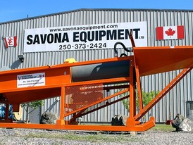 (New) Savona Equipment ST30 Trommel Wash Plant