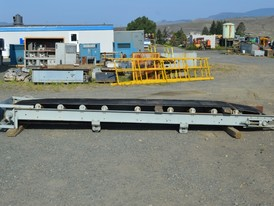 30 in. x 16 ft. Channel Conveyor
