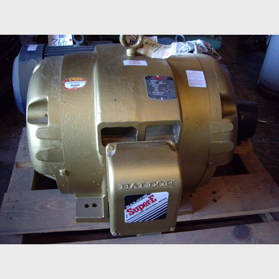 100 Hp New Baldor Electric Motor For Sale