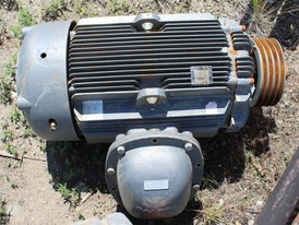 Baldor 200 HP Electric Motor