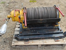 4000 lb. Chicago Pneumatic Air Operated Tugger Winch for Sale