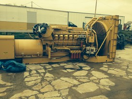 2000 KW CAT Diesel Generator for Sale