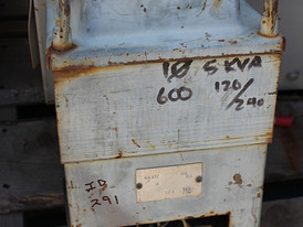 5 KVA 600 - 115/230 C.G.E. Electric Transformers for Sale
