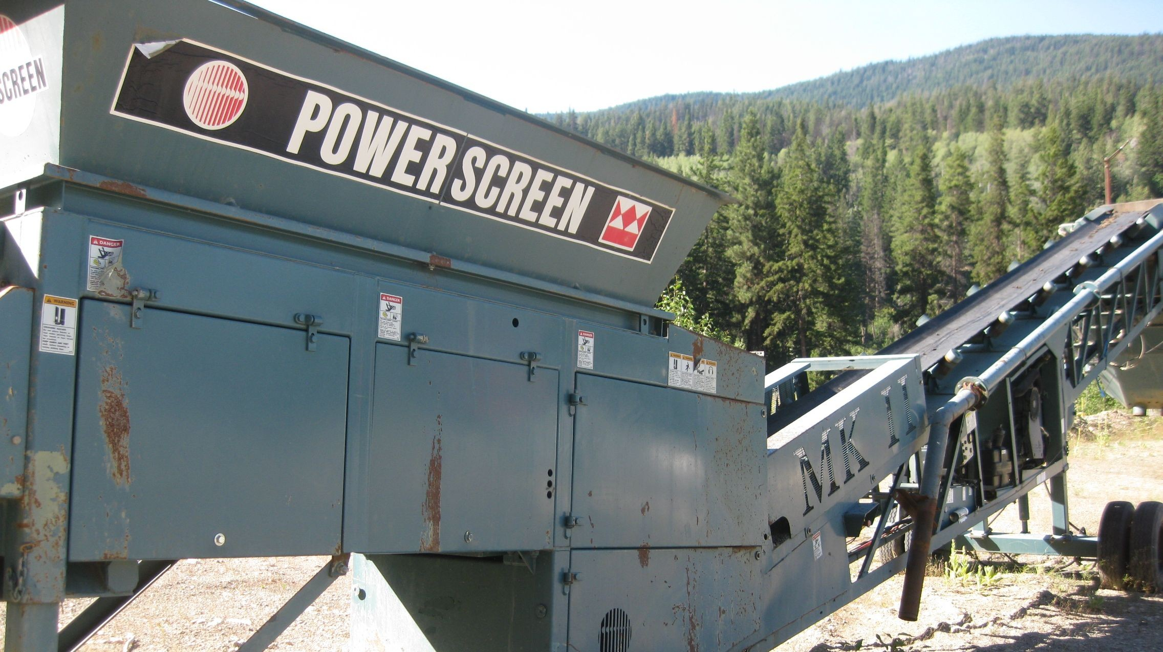 Screen for Aggregate Plant