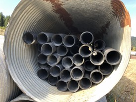 8 in. Corrugated Plastic Culvert