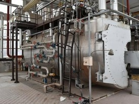 Overheated Industrial Steam Boilers