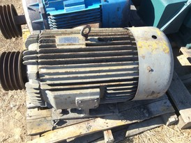 100 hp Toshiba Electric Motor