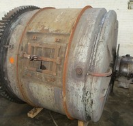 6 ft. dia. x 5 ft. Patterson Ball Mill for Sale