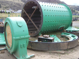9.5 ft x 14 ft. Long Allis Chalmers Ball Mill for Sale