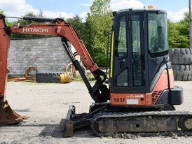 Hitachi ZX35U-3 Mini Excavator