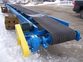 36 in. Custom Built Low Profile Conveyor