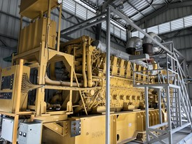 CAT 4.3 MW Generator Sub-Station Package