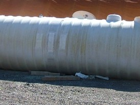 10,000 Gallon Fibreglass Storage Tanks for Sale
