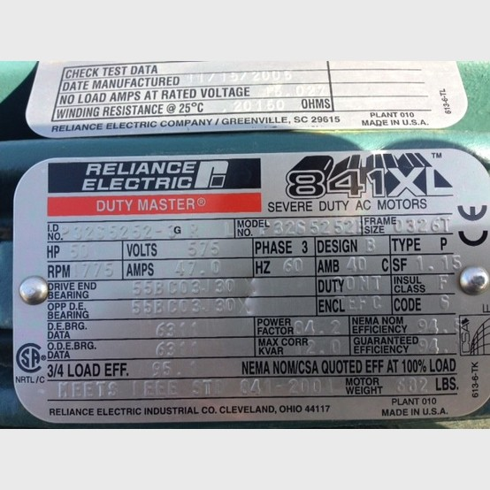Reliance Severe Duty Electric Motor Suppler Worldwide 50