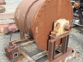 36 in x 36 in Shop Built Ball Mill