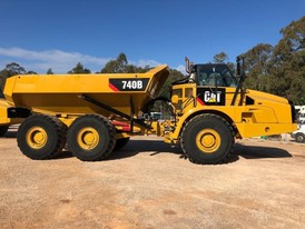 CAT 740B Rock Trucks