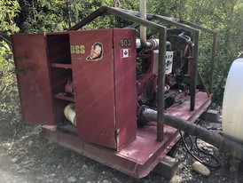 Cummins 6 inch Diesel Driven Pump