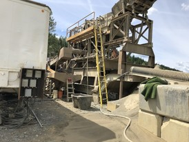 Double Screen Wash Plant