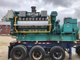 Cummins 1250 kW Natural Gas Generators