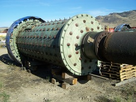Allis Chalmers 6 x 14 Ball Mill