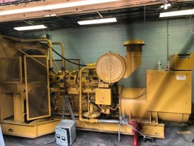 CAT 480 kW 240/480 Volt Natural Gas Generator