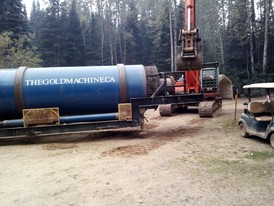 Gold Machine Model 100 Trommel Wash Plant