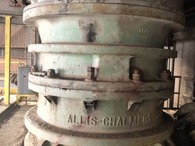 Allis Chalmers 30-55 Superior Primary Gyratory Crusher Package